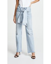 Alexander Wang - Stack Tie Jeans - Lyst