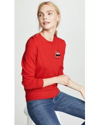 Markus Lupfer - Tracey Lip Pullover - Lyst
