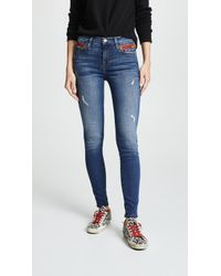 Etienne Marcel - Highrise Cropped Skinny Jeans - Lyst