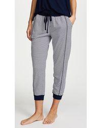 Splendid - Always Stripe Crop Pj Pants - Lyst