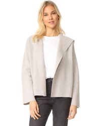 TSE - Cropped Jacket With Hood - Lyst