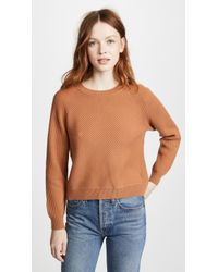 Vince - Diagonal Rib Sweater - Lyst