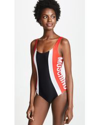 Moschino - Motocross One Piece - Lyst