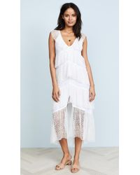 Suboo - Days Like These Lace Maxi - Lyst
