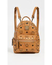 MCM - Mini Stark Studs Backpack - Lyst