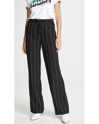 65fabdf044794 NYDJ Plus Isabella Black Trouser in Black - Lyst