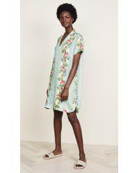 Scotch & Soda - Poolside Printed Shirtdress - Lyst