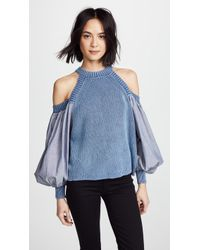 Free People - Catch A Glimpse Sweater - Lyst