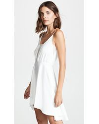 Rime Arodaky - Misha Lace Trim Dress - Lyst