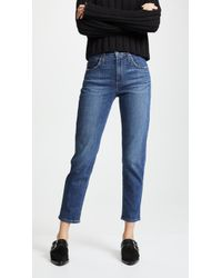 James Jeans - Donna High Rise Mom Jeans - Lyst