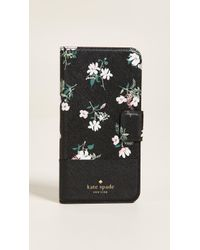 Kate Spade - Flora Wrap Folio Iphone 8 Plus Case - Lyst