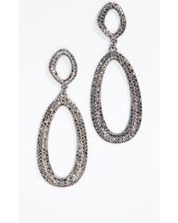 BaubleBar - Daviana Hoop Earrings - Lyst