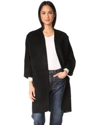 Vince - Reversible Cardigan Coat - Lyst