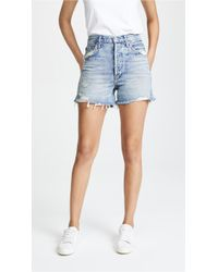 Agolde - Dee Ultra High Rise Shorts - Lyst