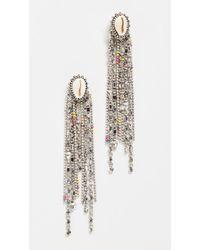 DANNIJO Carosi Earrings - Metallic