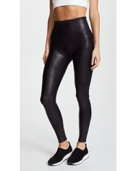 Spanx - Faux Stretch-leather Leggings - Lyst
