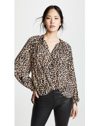 Zadig & Voltaire - Theresa Leo Blouse - Lyst
