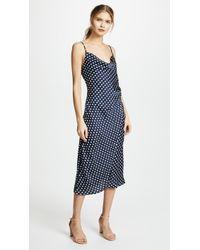 Re:named - Polka Dot Slip Dress - Lyst