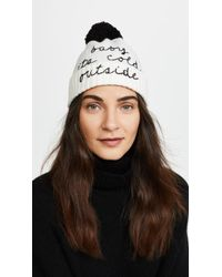 Kate Spade | Baby Its Cold Outside Beanie | Lyst