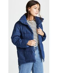 PRPS - Quilted Swing Puffer Jacket - Lyst