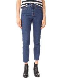 Levi's - Wedgie Icon Jeans - Lyst