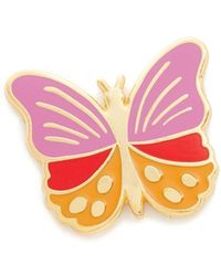 Georgia Perry - Butterfly Lapel Pin - Lyst