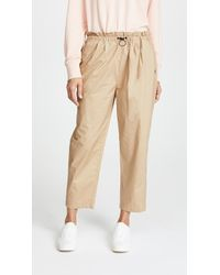 Scotch & Soda - Paperbag Trousers - Lyst