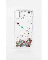 Rebecca Minkoff - Garden Party Glitterfall Iphone X Case - Lyst