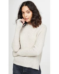 White + Warren Oversized Waffle Cashmere Hoodie - Multicolour
