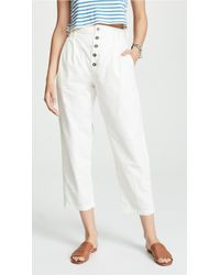 Free People - Compass Star Trousers - Lyst