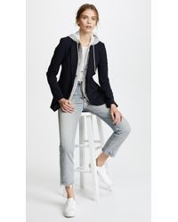 Veronica Beard - Classic Jacket With Hoodie Dickey - Lyst