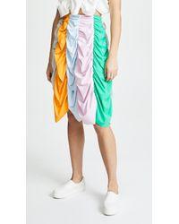 Paskal - Draped Mid Length Skirt - Lyst