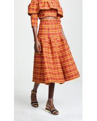 Tata Naka - Godet Skirt - Lyst