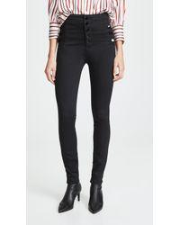 J Brand Natasha Sky Skinny Jeans - Black