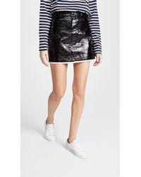 Sonia Rykiel - Lacquered Miniskirt - Lyst