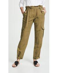 Rag & Bone - Tilda Cargo Trousers - Lyst