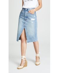 Levi's - Deconstructed Long Skirt - Lyst