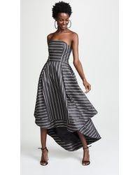 C/meo Collective - Moments Apart Strapless Gown - Lyst