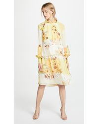 See By Chloé - Floral Tiered Dress - Lyst