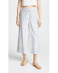 Splendid - Tulum Stripe Pants - Lyst