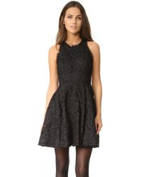 Ali & Jay - Textured Lace Racer Back Dress - Lyst