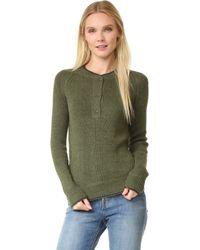 Antik Batik - Milly Henley Sweater - Lyst