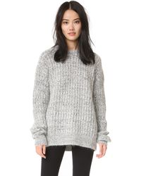 Aries - Super Big Crew Jumper - Lyst