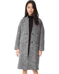 ATM - Kimono Overcoat - Lyst