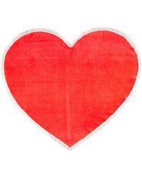 Ban.do   Sweetheart Giant Heart Towel   Lyst