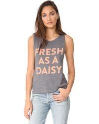 Barber - Fresh As A Daisy Muscle Tee - Lyst