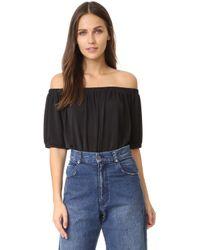 Blaque Label - Off Shoulder Bodysuit - Lyst