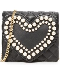 Boutique Moschino - Quilted Cross Body Bag - Lyst