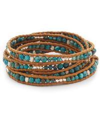 Chan Luu - Beaded Wrap Bracelet - Lyst