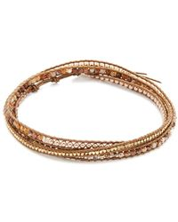 Chan Luu - 3 Wrap Choker Necklace - Lyst